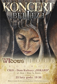 Koncert: BELIEVE – Seven Widows Tour